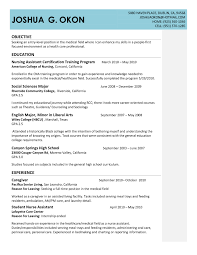 Entry Level Resume Examples by Charming Caregiver Resume Example