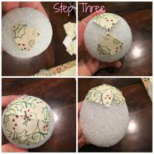 lexi michelle blog diy paper pine cone christmas ornaments