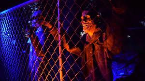 diy pneumatic zombie cage breakout haunted house halloween prop