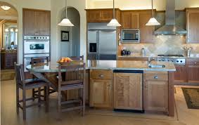 elegant modern kitchen design with massive recessed lighting