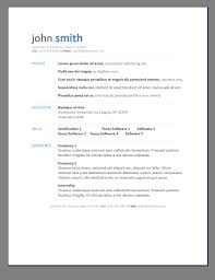 Best Resume Template Download by Primer U0027s 6 Free Resume Templates Open Resume Templates