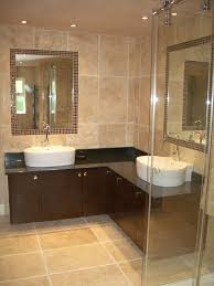 Wainscoting Ideas Bathroom by White And Beige Bathrooms Downstairs Bath Crema Marfil Marble