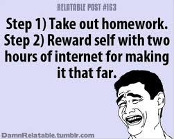 Funny Excuses To Get Out Of Doing Homework at   essays org pl AZ Quotes Category