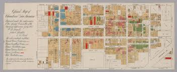 Street Map San Francisco by Official Map Of Chinatown In San Francisco David Rumsey