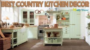 new chic country kitchen decor images 2917