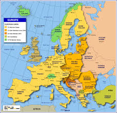 Map Of Northeast United States by Map Of Europe Member States Of The Eu Nations Online Project