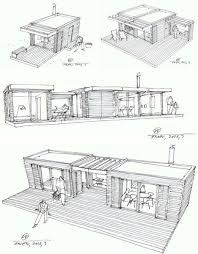 Cabin Design Ideas Post Fad Prefab Retro Modern Cabins For Neo Rustic Living
