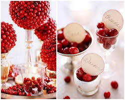stunning christmas table decorations ideas with red synthetic