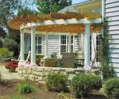 Deck Pergola Ideas by Best 25 Curved Pergola Ideas On Pinterest Backyard Kitchen