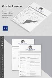 Resume Sample Pdf by Cashier Resume Template U2013 11 Free Word Excel Pdf Psd Format