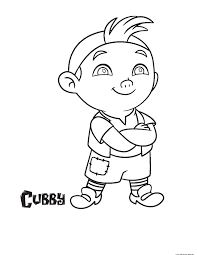 jake and the never land pirates cubby coloring pages for kidsfree