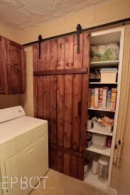 epbot make your own sliding barn door for cheap