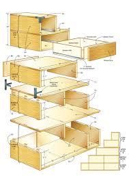 Diy Bedroom Set Plans Build A Tansu Chest Making A House A Home Pinterest
