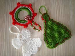 best picture of crocheted christmas tree ornaments all can
