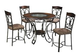 Ashley Furniture Round Dining Sets Buy Ashley Furniture Glambrey Round Counter Height Table Set