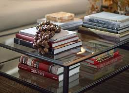 Display Coffee Table How To Decorate A Coffee Table Pottery Barn
