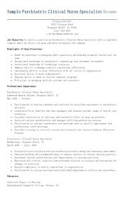 ideas about Clinical Nurse Specialist on Pinterest     Sample Psychiatric Clinical Nurse Specialist Resume