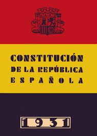 Contitución Española de La II República