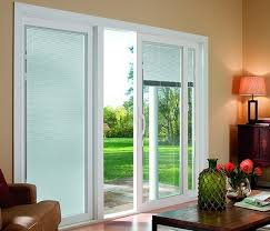 exterior door with blinds between glass sliding doors with blinds between glass i47 all about creative