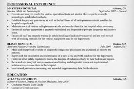 Sample Medical Technologist Resume by Nuclear Medical Technologist Microbiology Resume Sample Medical