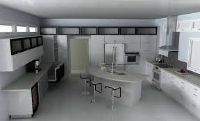 decorations comfortable curve modern kitchen island design with