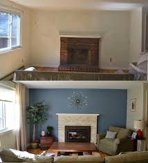 Dining Room Makeovers by Weafer Design Before And After Living Room And Dining Room Makeover