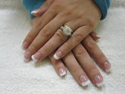 pink and white gel nails pictures how you can do it at home