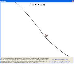 Line Rider Flash Game,