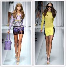 Versace spring 2010 :  sexy fashion versace woman