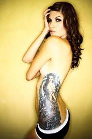 Combination Tattoos For Girls