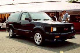 S-10 Blazer, S-15 Jimmy 1983-1994