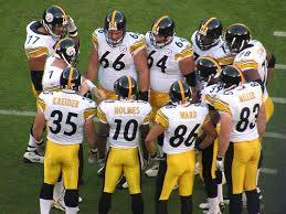 Pittsburgh Steelers Huddle