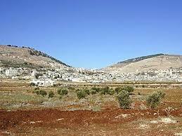 בית ישראל * Haus ISRAEL Mt_Garizim_et_Mt_Ebal_vus_de_l_est_tb_N011300_wr