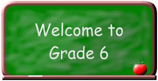 الصف السادس                   Grade 6