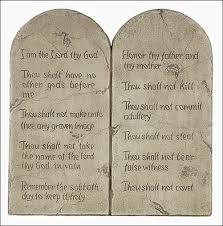 The Ten Commandments, The