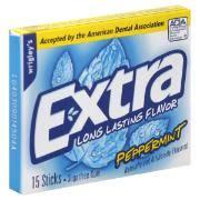 Chewing gum TRIDENT và EXTRA hàng USA rẻ nhất 5s đây - 5