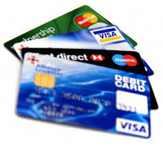 The use of debit cards has