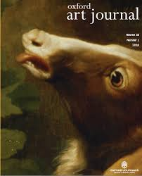 Oxford Art Journal issue cover