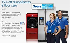 Sears Appliance Sale Update: