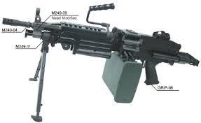m4 ou m249 AEG-03-08
