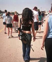 TYPISCH JÜDISCH - gibt es nicht - !!! Israeli%20girls%20M16%20M4%20Carbine