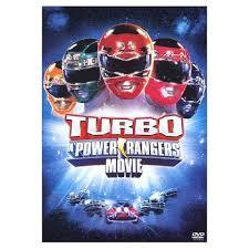 Powers Rangers Turbo affiche