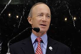 Mitch Daniels, who ran the US