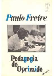 Capa do livro Pedagogia do Oprimido de Paulo Freire