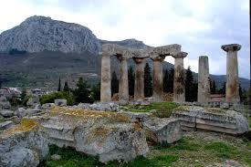 SCHAITL - פאה נכרית -  Perücke der orthodoxen Frau Apollon_Tempel_im_antiken_Korinth