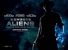 cowboys vs aliens poster 5
