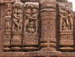 Figurines form the Konark Temple