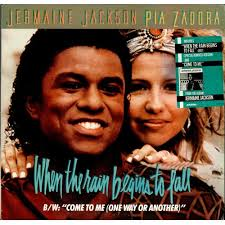 When the Rain Begins to Fall - Jermain Jackson