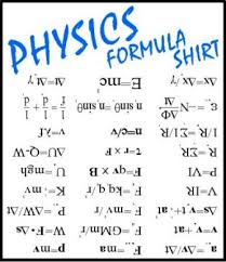 Physics Formula T-shirt