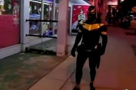 Superhero Phoenix Jones gets a
